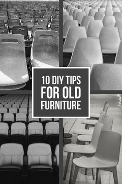Greyscale 10 DIY Tips For Old Furniture Pinterest Post Furniture Sale