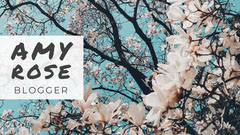 Cherry Blossom Photo Blogger Youtube Channel Art  Blogger