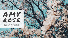 Cherry Blossom Photo Blogger Youtube Channel Art  Banner do YouTube