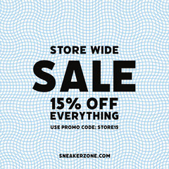 Store Sale Instagram Square Shopping