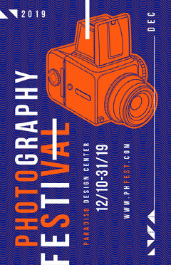 Photography Festival Poster Photography