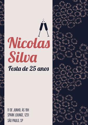 Nicolas <BR>Silva  Convite para festa