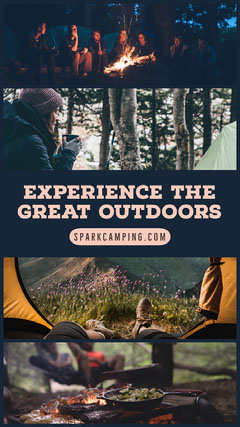 Experience the great outdoors Instagram Story