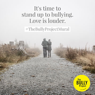 It's time to stand up to bullying.Love is louder.