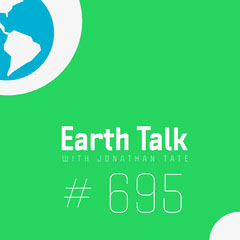 Green and Blue Earth Talk Podcast Instagram Square Earth