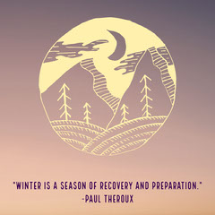 Theroux winter quote igsquare  Winter