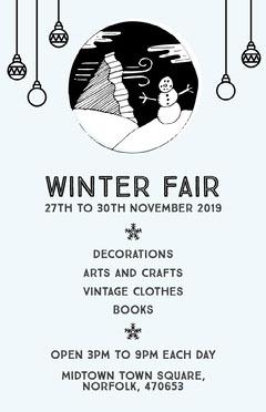 winter gala poster Fairs
