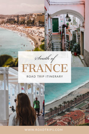 White South of France Pinterest Itinerario