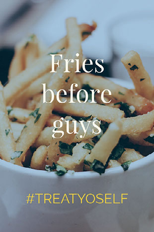 Fries before guys Social Media Graphics