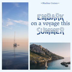 Embark on a Voyage Instagram Portrait Holiday