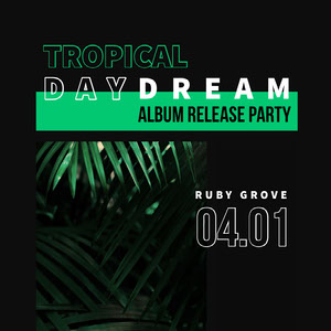 Black and Green Release Party Social Post Copertina album
