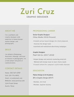 Zuri Cruz  Designer