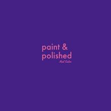 Blue and Pink Nail Salon Company Logo Logo
