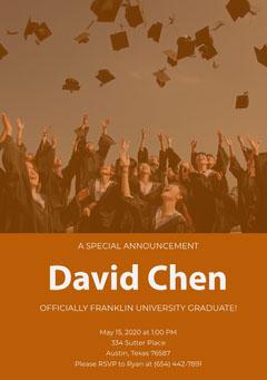 David Chen  Congratulation