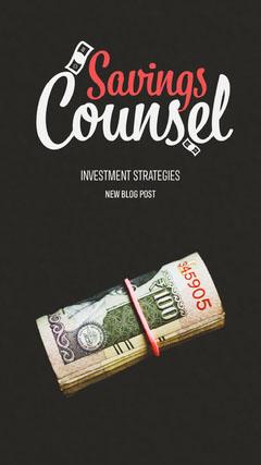 Savings Counsel Instagram Story Finance