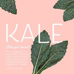 kale facts instagram Vegan