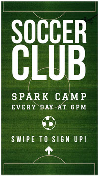 SOCCER CLUB Flyer