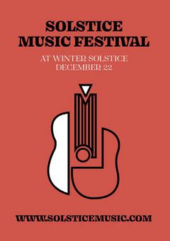 music festival flyer Festival