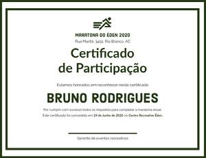 Bruno Rodrigues Diploma