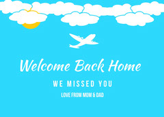 Welcome Back Home Welcome Poster