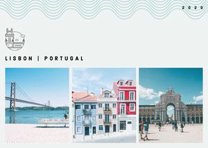 Lisbon Portugal Postcard Urlaubspostkarte