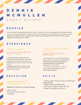 DENNIS MCMULLEN Resume