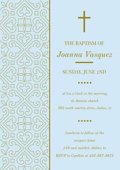 Joanna Vasquez  Baptism