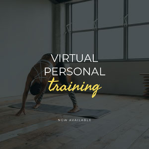 virtual personal training instagram  COVID-19 Re-opening