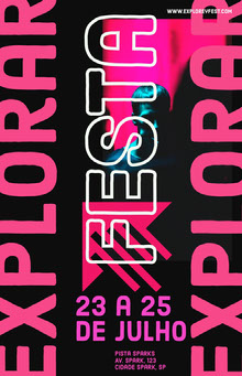 festival event poster  Pôster