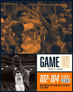 Orange and Black Toned Basketball Game Instagram Portrait  Teams