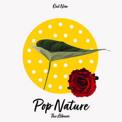 Yellow Polka Dots Pop Nature IG Square Nature