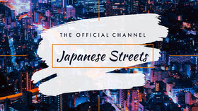 Japanese Cityscape Photo Youtube Channel Art  Banner do YouTube