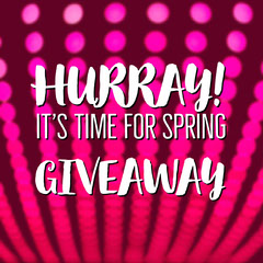 Pink Spring Giveaway Business Square Instagram Ad Giveaway