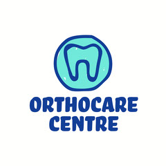 Blue Othocare Centre Logo Square  Dentist