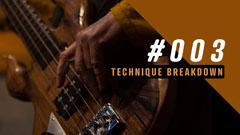 Brown Lesson 3 Technique Breakdown Youtube Thumbnail Tutorial