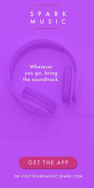 Spark Music Flyer de anúncio