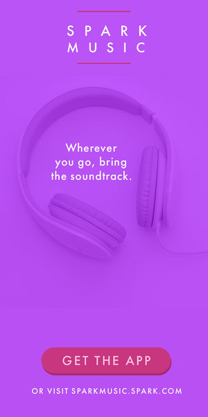 Spark Music Advertisement Flyer