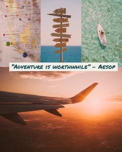 adventure quote igportrait  Adventure