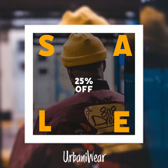 Streetwear Sale Instagram Square Clothing