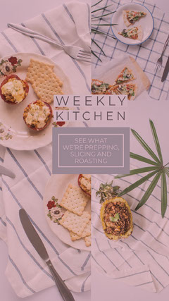 WEEKLY<BR>KITCHEN Story
