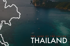 Dark Blue Ocean Thailand Postcard Ocean