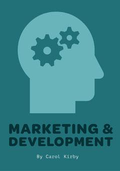 Blue Marketing Book Cover A5 Marketing