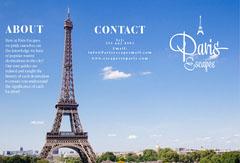 Blue Sky Paris Escapes Brochure City