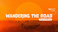 Orange & White Travel Blog Banner  Travel