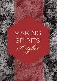 MAKING SPIRITS Bright! Biglietto di Natale