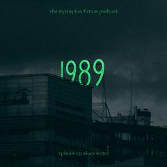 Green Neon Dystopian Podcast Neon