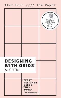 Pink Grid Graphic Design Kindle Book Cover  Designer