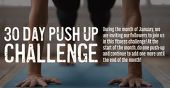 Push up challenge IG Landscape Sports