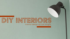 Green & Dark Orange Interior Blog Banner  Furniture Sale
