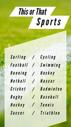 Green and White Sports Social Post Fitness
